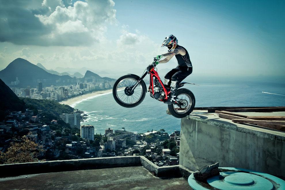 Опасные виды спорта: мототриал