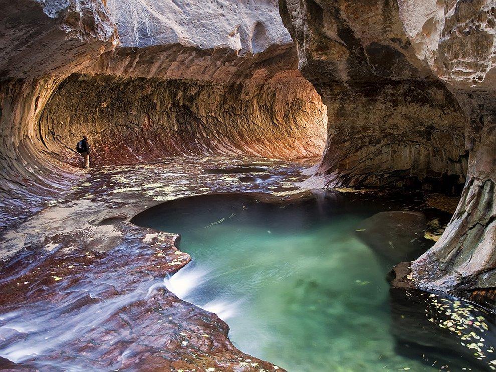 Каньон в национальном парке Зайон в штате Юта