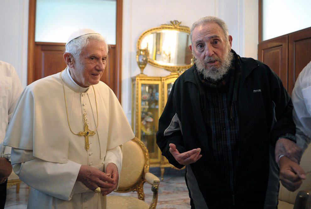 Визит Папы римского Бенедикта 16-го на Кубу