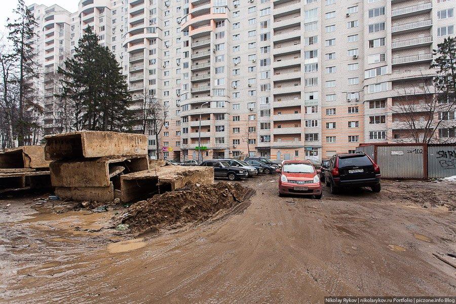 Весна в России