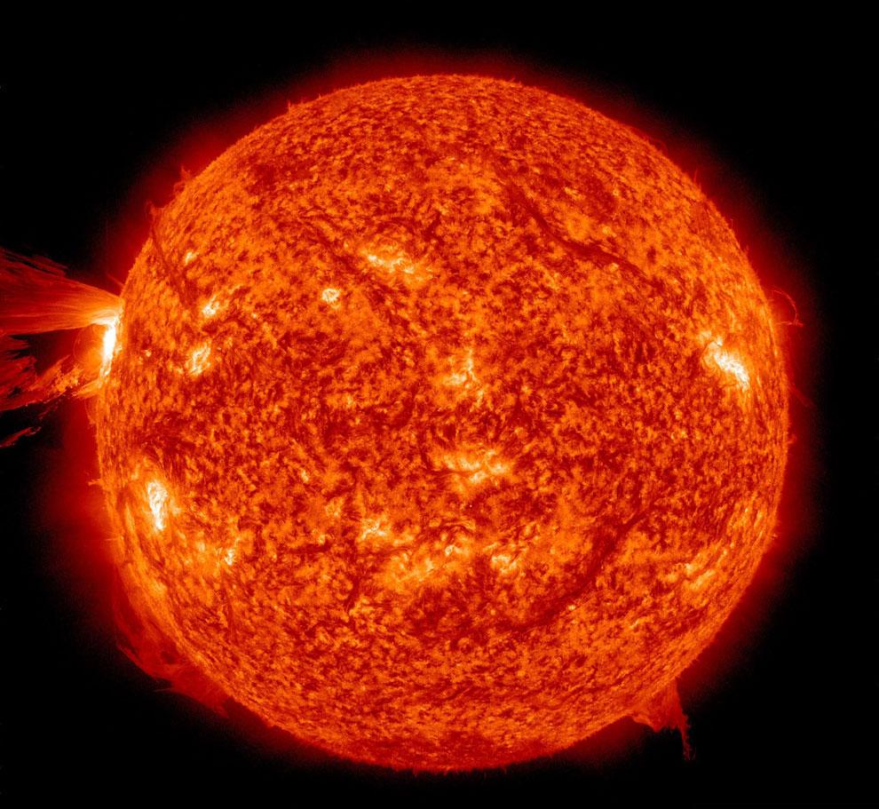 Вспышка на солнце 16 апреля 2012
