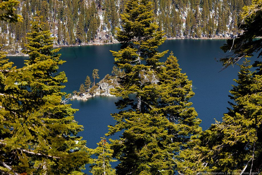 Озеро Тахо в Калифорнии