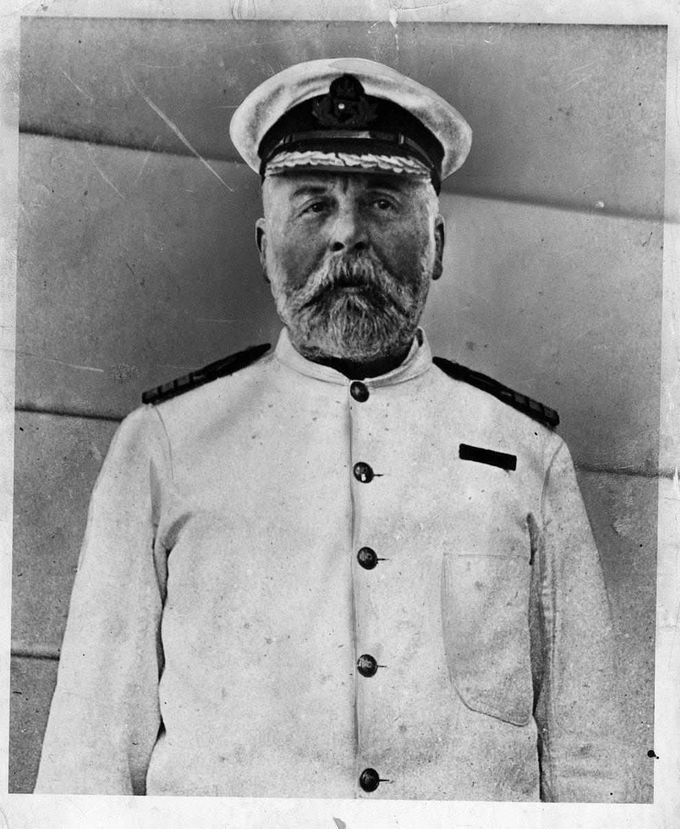 Эдвард Джон Смит — капитан «Титаника»