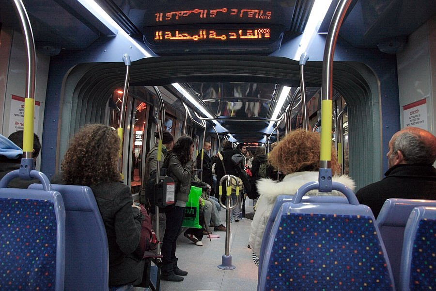 Трамвай в Иерусалиме