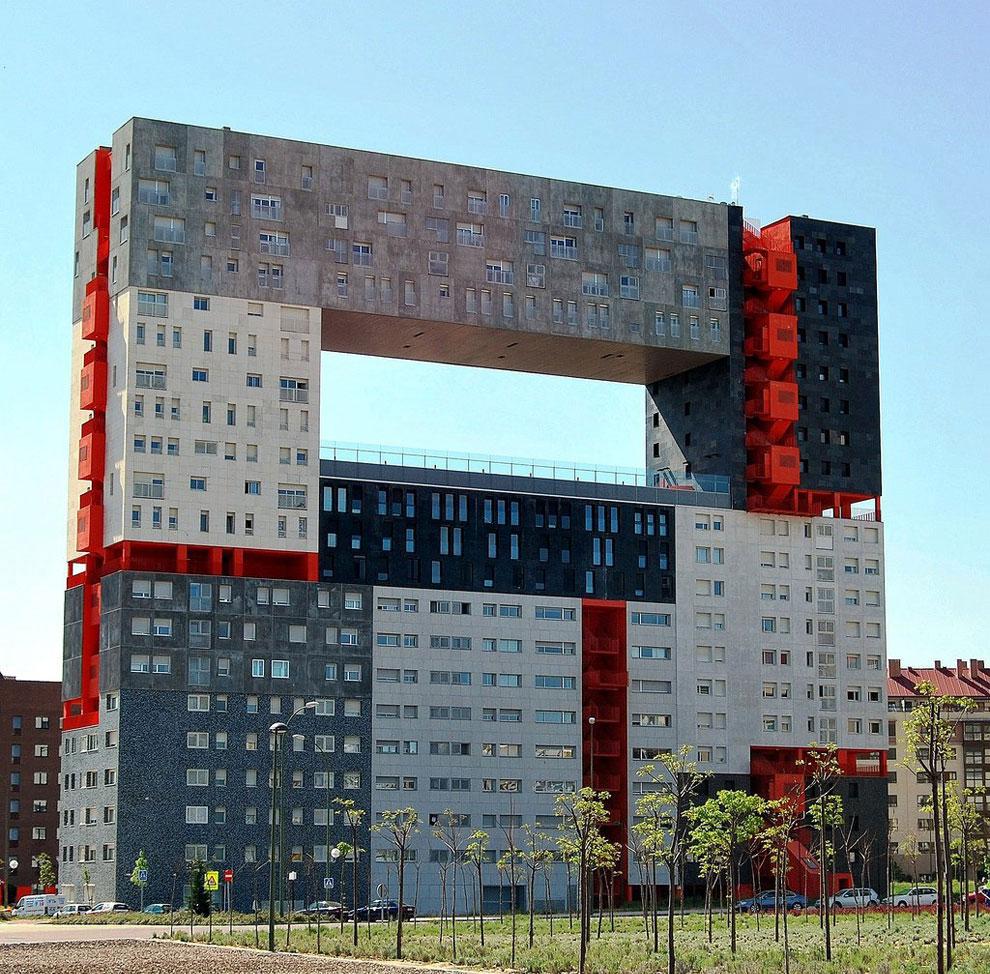 Жилой дом Mirador в Мадриде