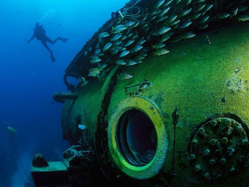 Подводная лаборатория «Водолей»