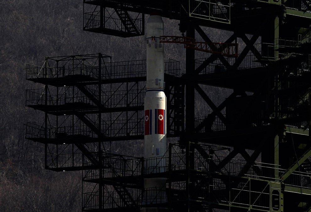 Северная Корея и космическая ракета Млечный путь-3