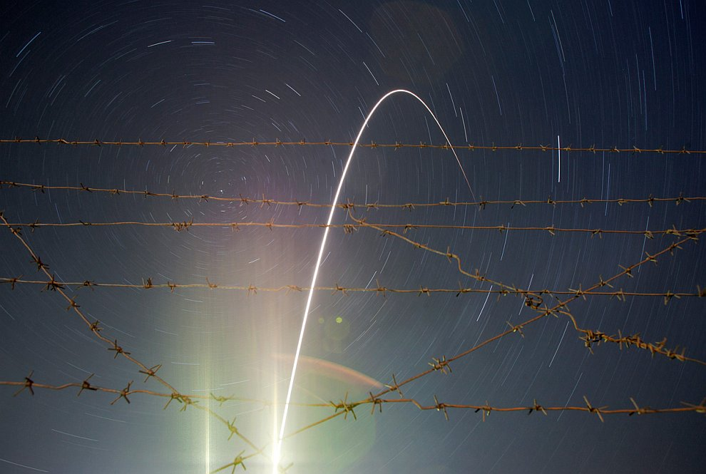 Старт ракето-носителя «Союз-ФГ»