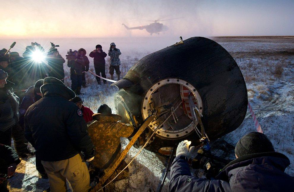 Спускаемый аппарат кораблей «Союз»