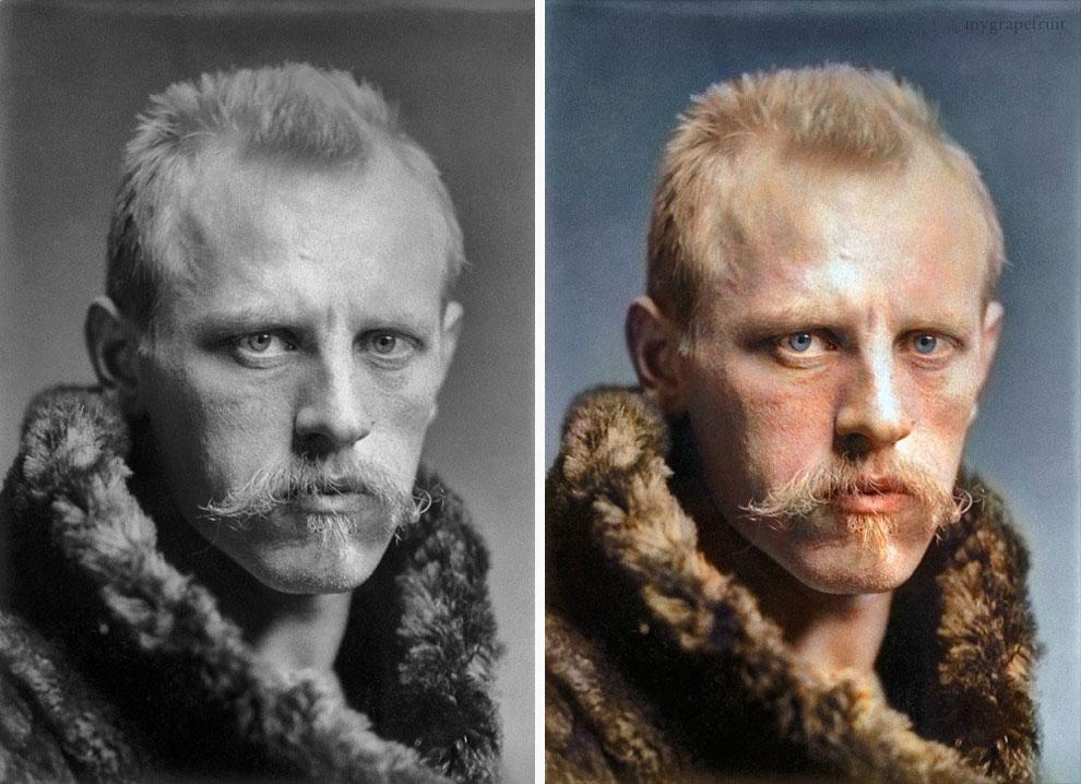 Норвежский полярный исследователь Нансен