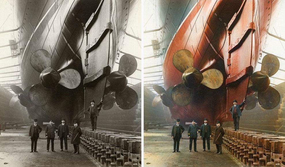 Британский пассажирский лайнер «Мавритания»