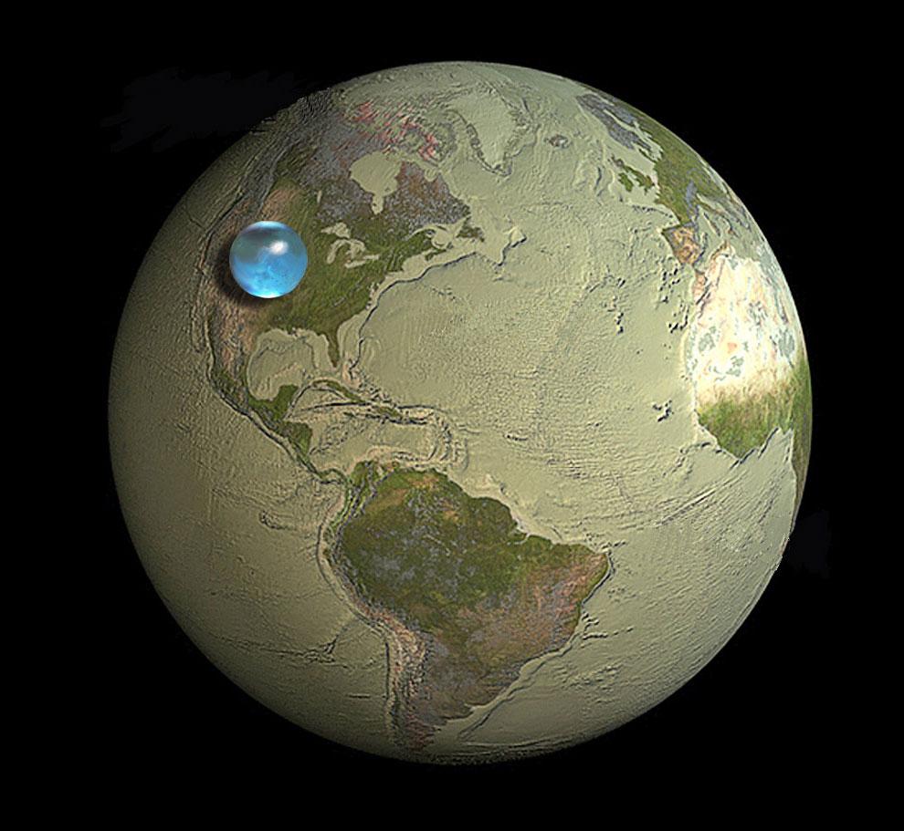 Вся вода планеты Земля