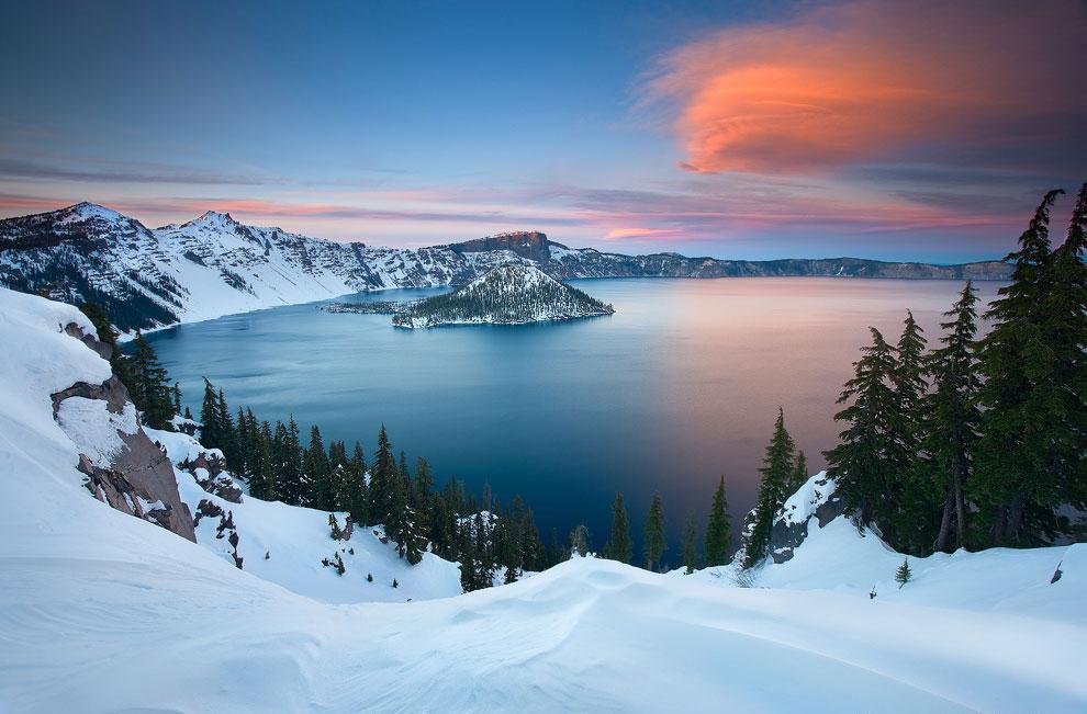 Озеро Крейтер, штат Орегон