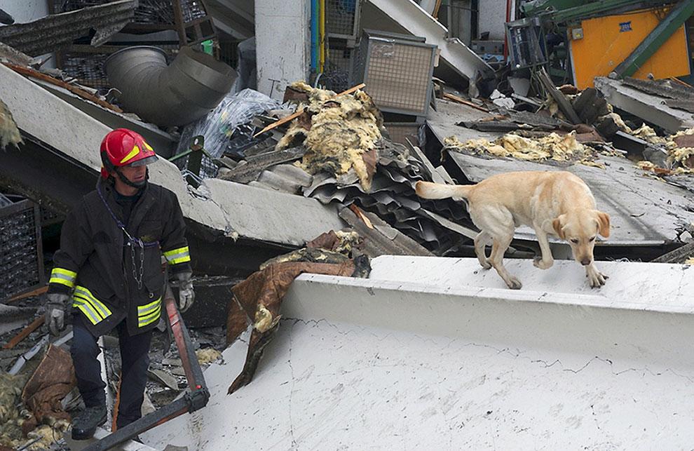 Сильнейшее землетрясение в Италии за последние 3 года