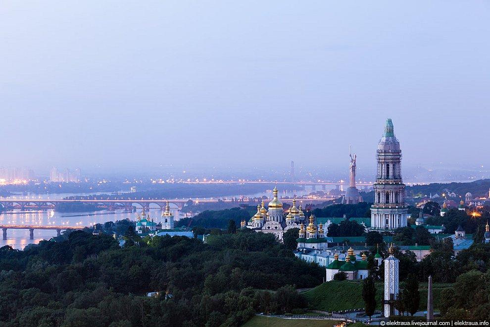 Прогулка по ночному Киеву