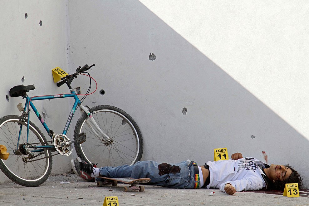 Нарковойны в Мексике