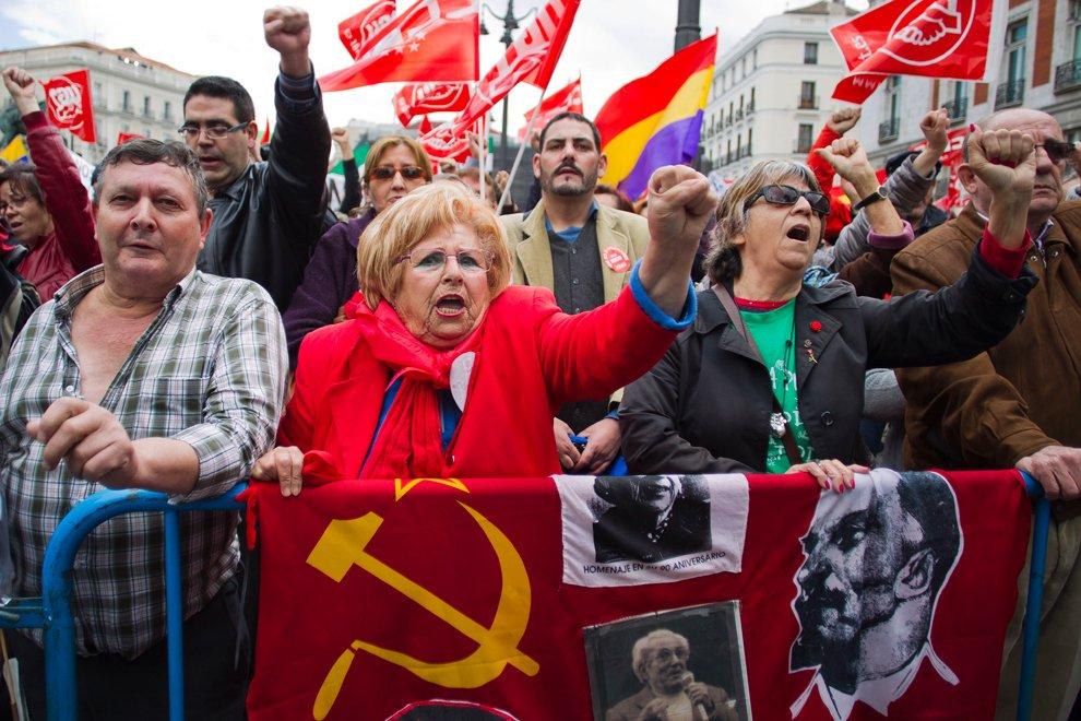 Первомай 2012 в мире