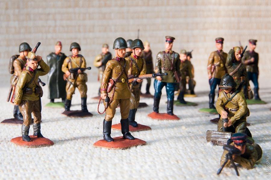 Объемные солдатики своими руками 15