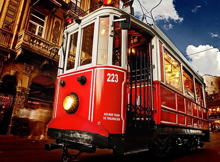 Трамвай в Стамбуле