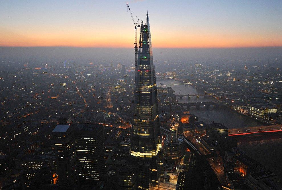 Shard — строящийся небоскрёб в Лондоне