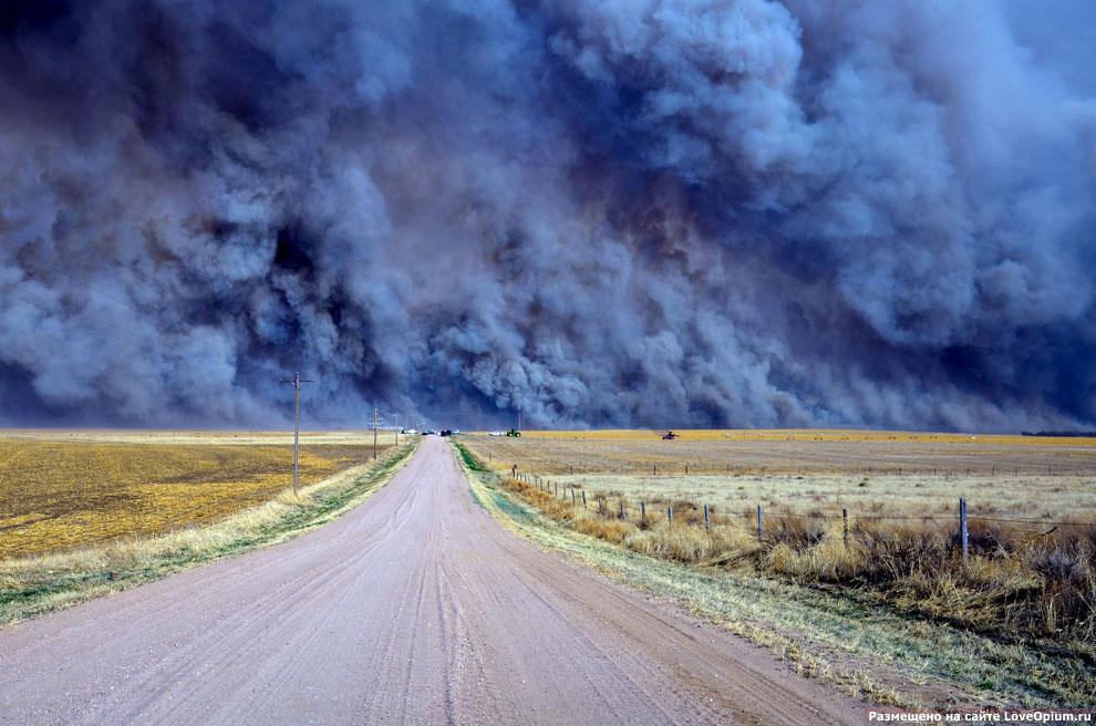 Пожар в американском штате Колорадо