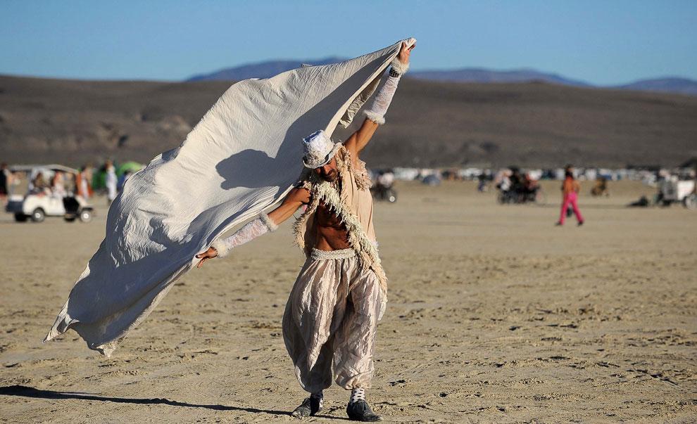 Фестиваль «Горящий человек»