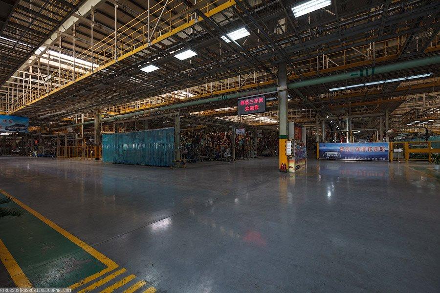 Завод компании «Chery»