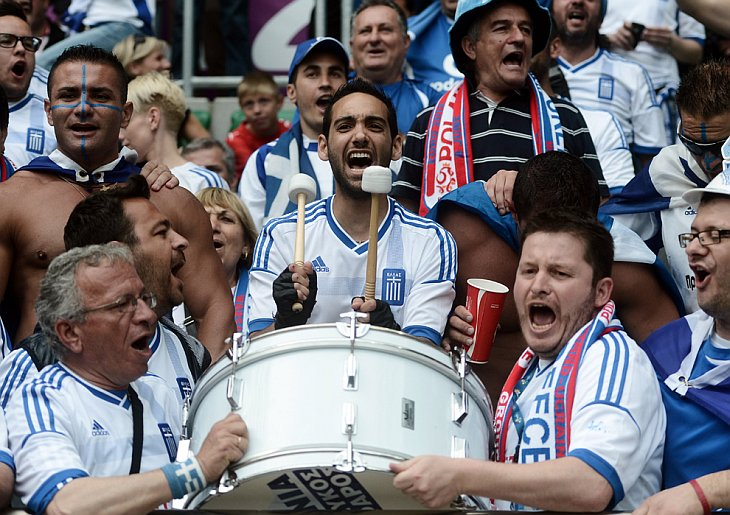 Футбольные фанаты Евро 2012