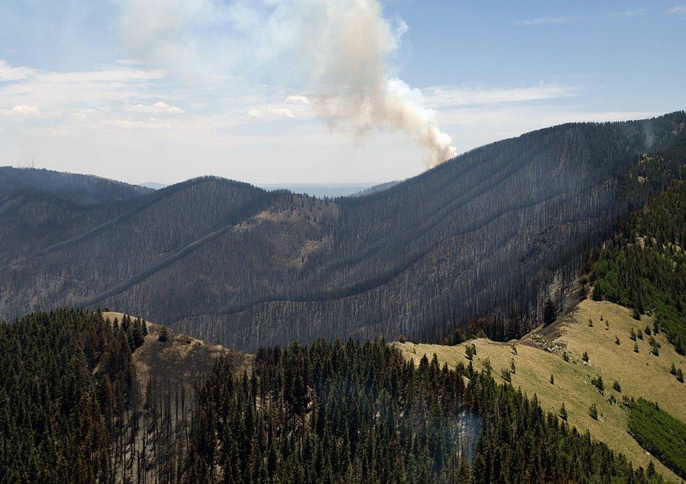 Сезон пожаров на западе США