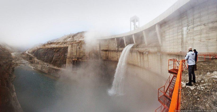 Миатлинская ГЭС на реке Сулак