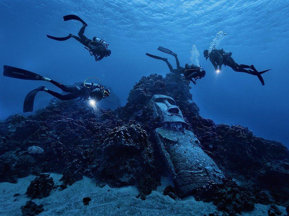 Риф у острова Пасхи