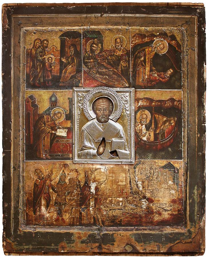 Великорецкая чудотворная икона святителя Николая