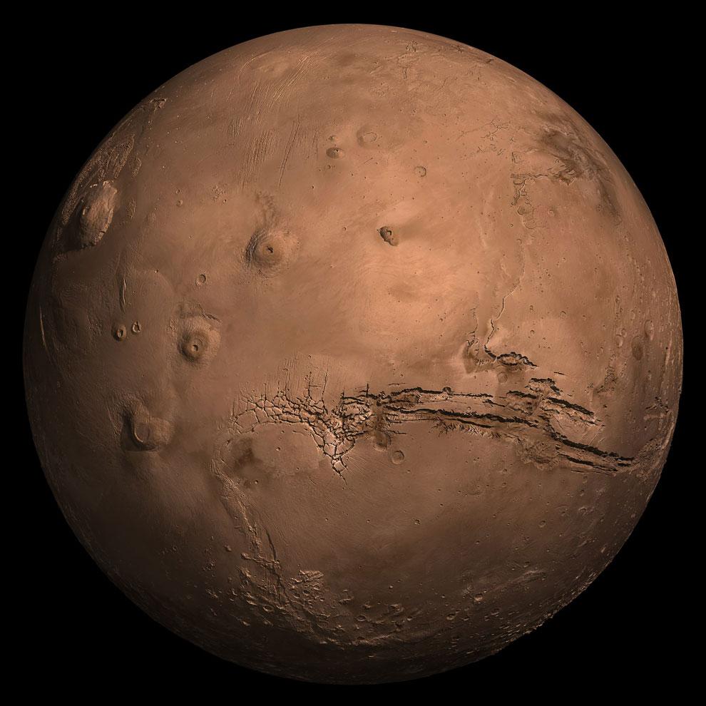 Компьютерная модель Марса
