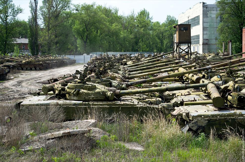 Постапокалипсис: бронетанковый ремонтный завод