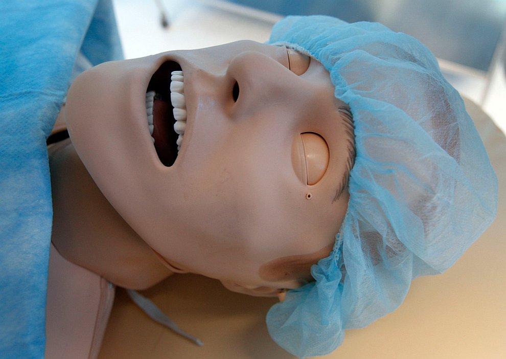 Манекен — симулятор больного
