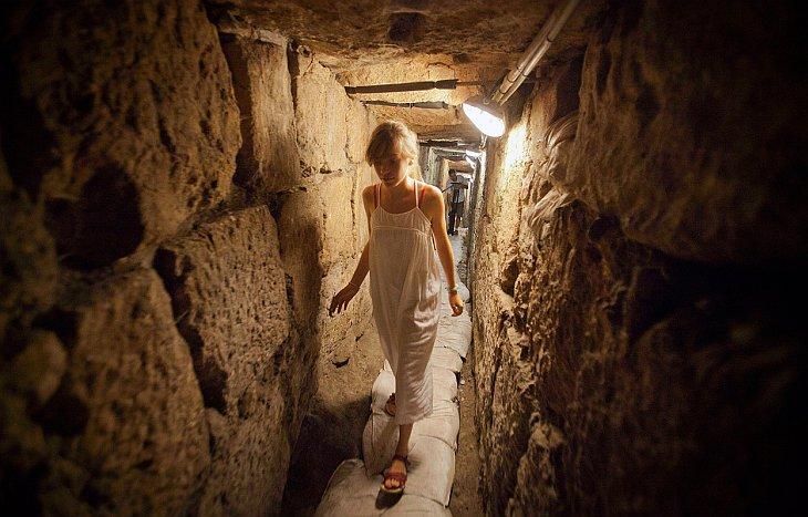 Подземный дренажный тоннель