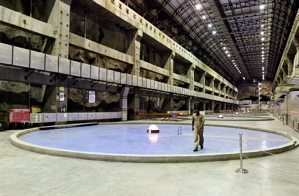 Подземный энергетический блок ГЭС
