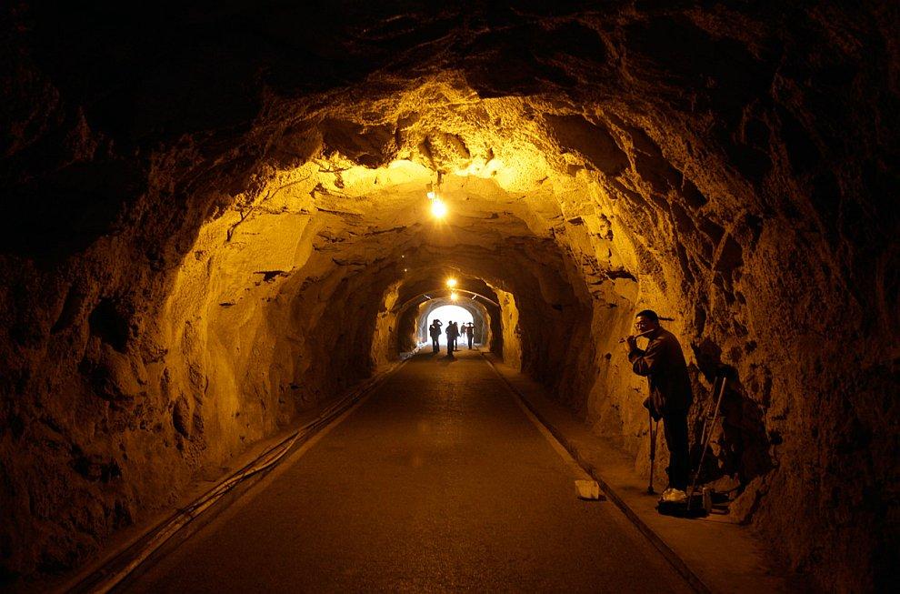 Подземный туннель на острове Сямэнь