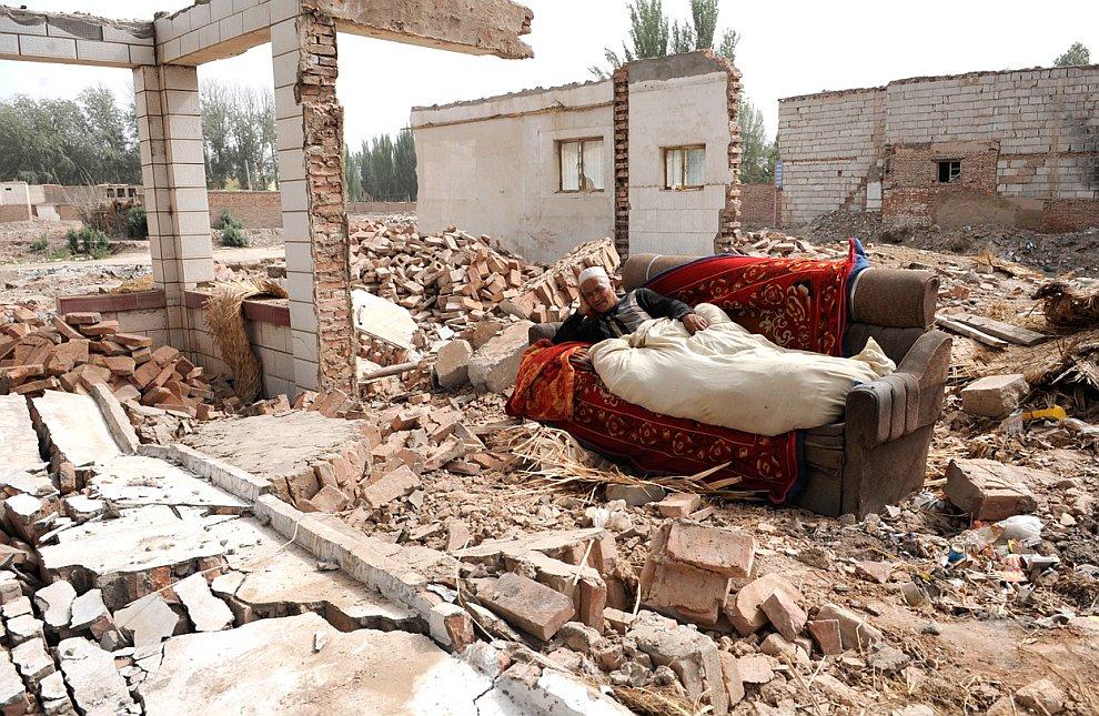 Снос старых домов для возведения на их месте новых жилых комплексов