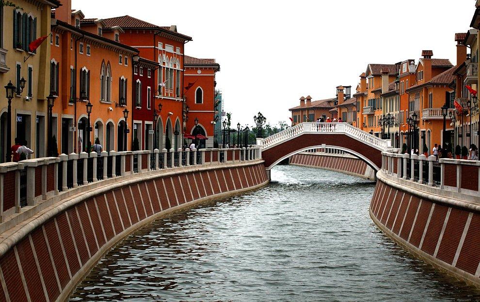 Копия итальянского города Флоренция