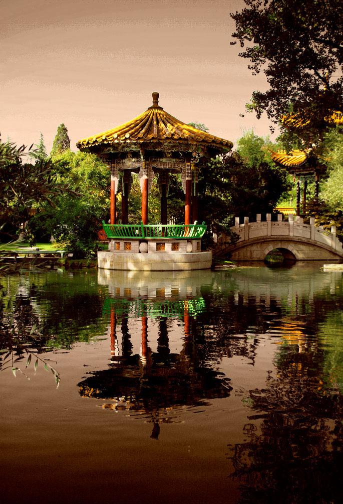 Китайский сад Цюриха (Швейцария)