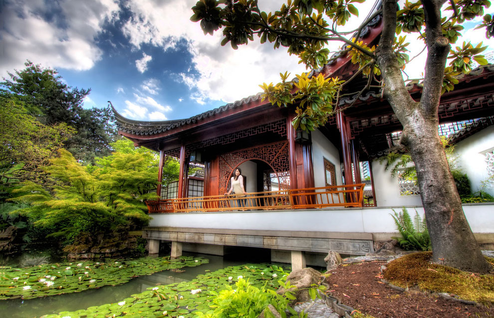 Китайский сад имени Сунь Ятсена (Канада, Ванкувер)