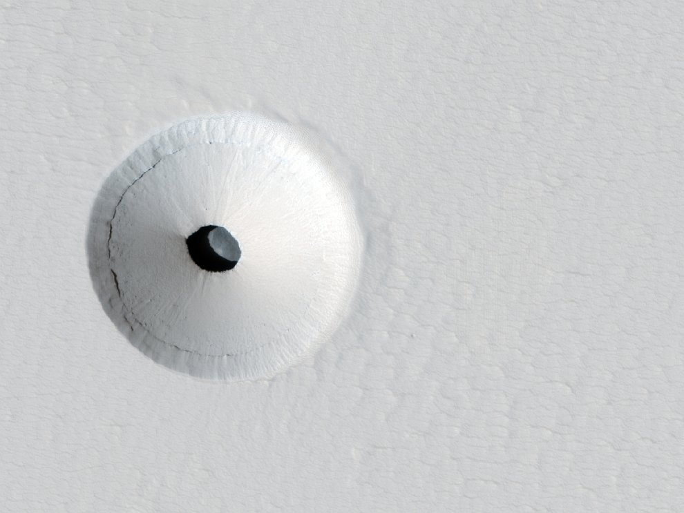 Дыра в Марсе