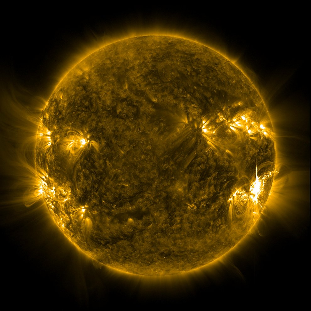 Вспышки на Солнце