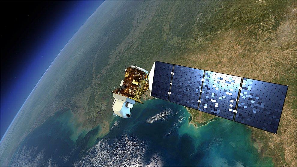 Исполнилось ровно 40 лет запуску первого спутника американского проекта Landsat