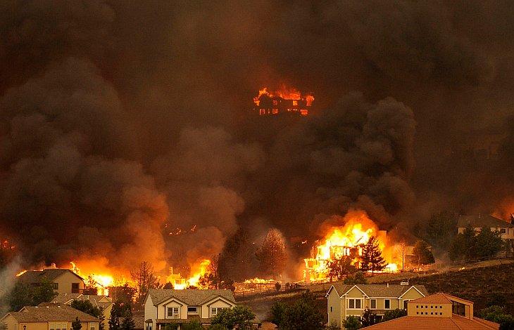 Сезон пожаров в США. Часть 2