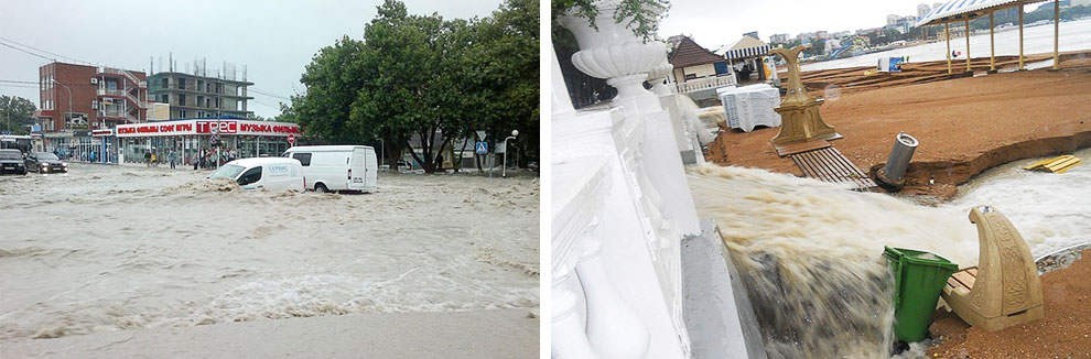 Катастрофическое наводнение на Кубани