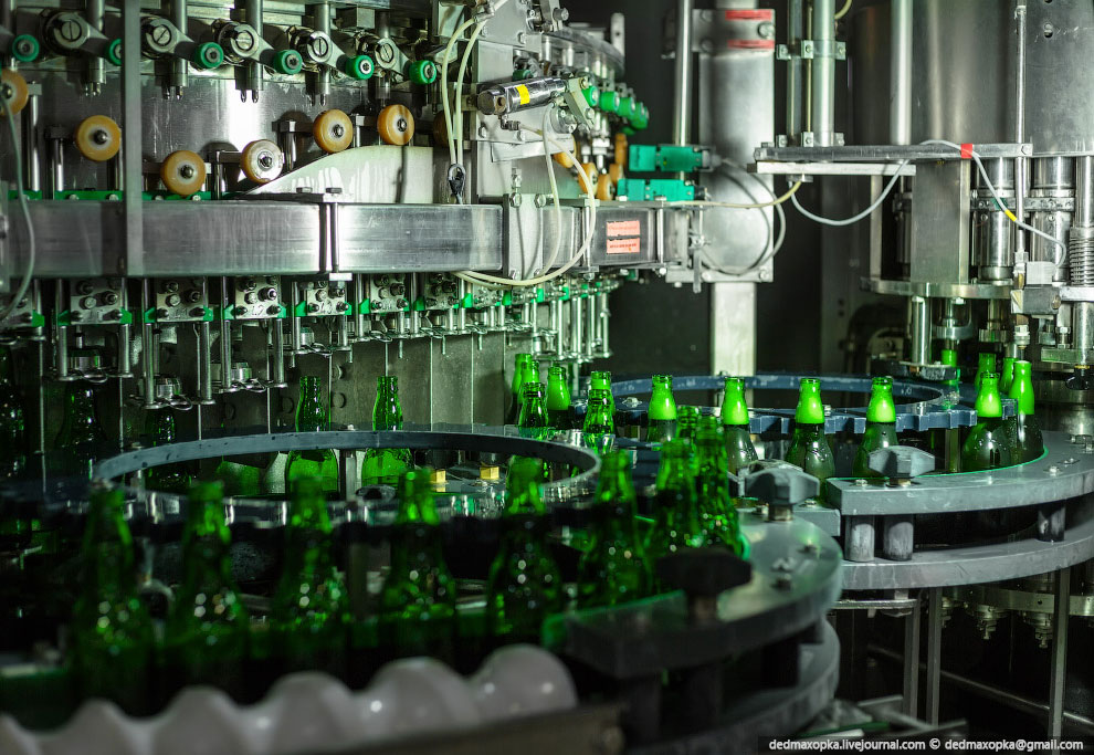 Экскурсия на пивоварню Heineken