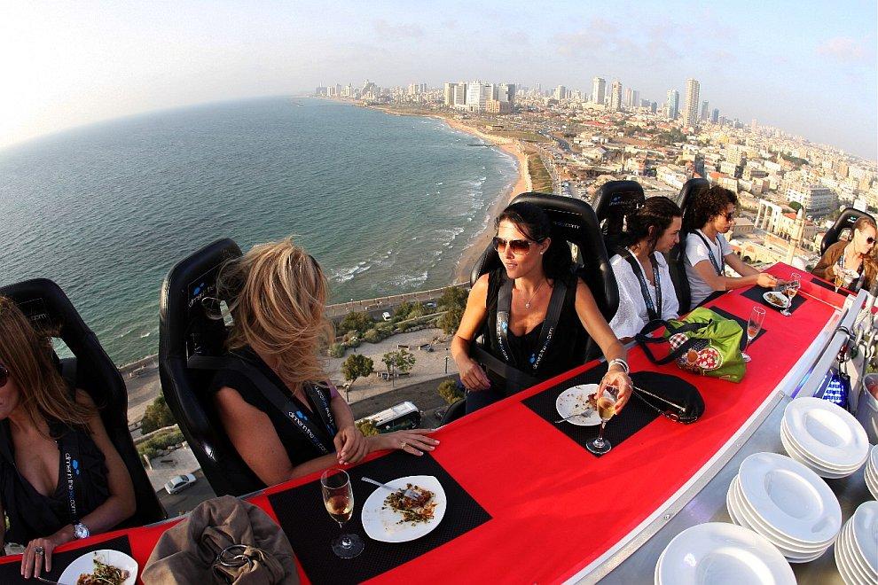 Ужин в небесах: самый необычный ресторан