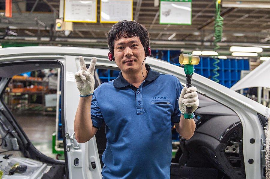 Экскурсия на завод Hyundai